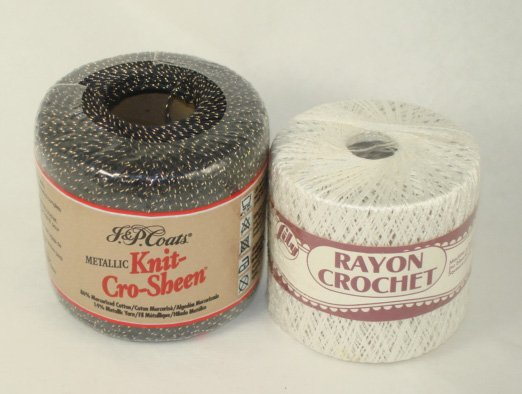 Knit Cro Sheen and rayon Crochet by Lily
