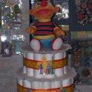 Sesamee Street Diaper Cake