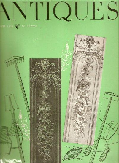 Antiques Magazine~March 1956~Continental Creamware