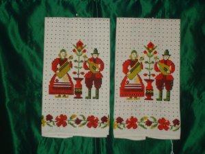 Quaint Linen Tea Towels