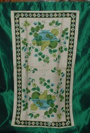 Fruit Linen Tea Towel