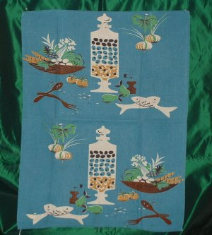 Pair of Linen,Rayon,Cotton Tea Towels