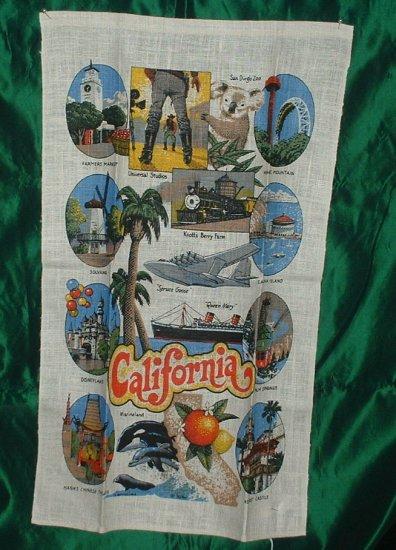 California Linen Tea Towel