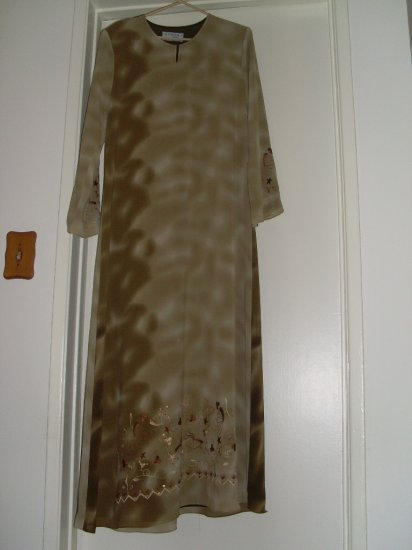 Al Karam Abaya - Light olive