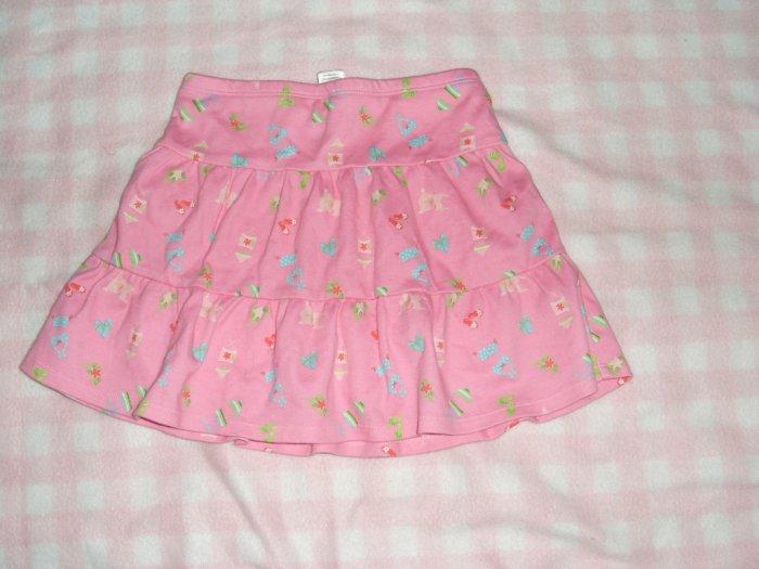 Gymboree kid girls skort skirt size 6