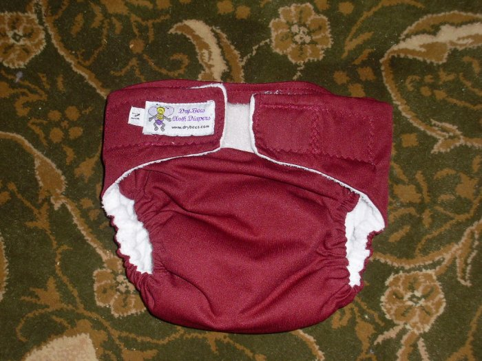 AIO diaper, size Medium cloth diaper All In One Dry Bees