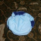 AIO OS All In One One Size cloth diaper light blue