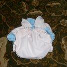 AIO OS All In One One Size cloth diaper pale peach