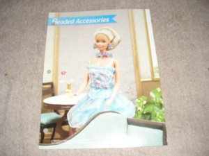 FASHION DOLL BEADED ACCESSORIES PLASTIC CANVAS PATTERN