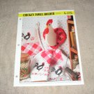 HOME DECOR - Chicken Towel Holder Plastic Canvas Pattern