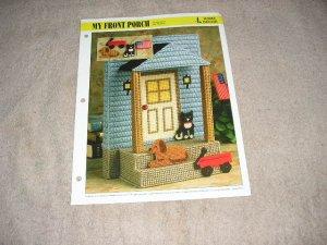 HOME DECOR - My Front Porch Plastic Canvas Pattern