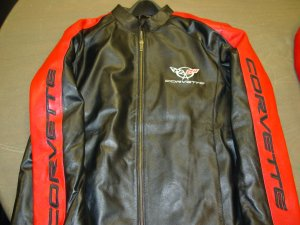 Leather Corvette Jacket