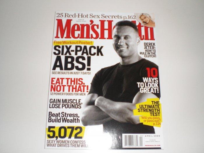 Men's Health April 2008 Issue