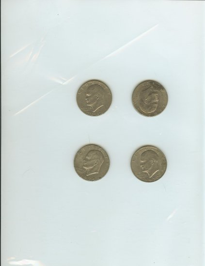 "1 (one) ""IKE"" Eisenhower U.S. Dollar"