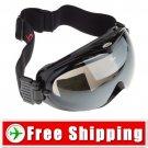 Snowboard Ski Goggles Anti-Fog Dual Lens Black Frame FREE Shipping