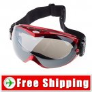 Sport Snowboard Ski Goggles Anti-Fog Dual Lens Red FREE Shipping
