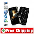 Gunslinger Cell Mobile Phone QWERTY and Swivel Touchscreen