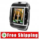 1GB Water Resistant Cell Mobile Watch Phone Quad-Band Bluetooth