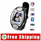Camera Touchscreen Mobile Watch Phone Quad Band Bluetooth