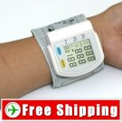 Automatic Digital Wrist Blood Pressure Heart Pulse Monitor