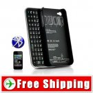 New Bluetooth Sliding Keyboard - Hard Case for iPhone 4 4G