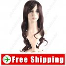 Vibrant Stylish Synthetic Hair Long Curl Wig Hairpiece