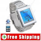 1.5 inch Touch Screen Tri-band Watch Mobile Phone - Bluetooth