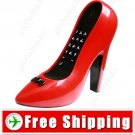 Cool Red High Heel Land Line Telephone Phone for Home FREE SHIPPING