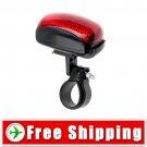 5 LED Bike Bicycle Rear Tail Safety Flash Light Lamp FREE Shipping