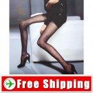 Sexy Sheer Velvet Plaid Tights Pantyhose Leggings Black FREE Shipping