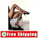 Sexy Ultrathin Sheer Tights Pantyhose Leggings Black FREE Shipping