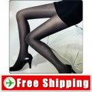 Sexy Jacquard Flower Floral Tights Pantyhose 80D Black FREE Shipping