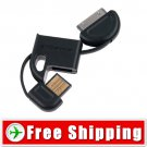 Dock Connector to USB Cable For iPod iPhone black color FREE Shipping