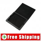 New Black Leather Flip Case With Stand For Apple iPad 2 FREE Shipping
