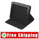 Soft Alligator Leather Case Pouch for iPad Black Color FREE Shipping