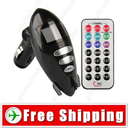 Submarine style Car MP3 Player with Wireless FM TF Slot FREE SHIPPING