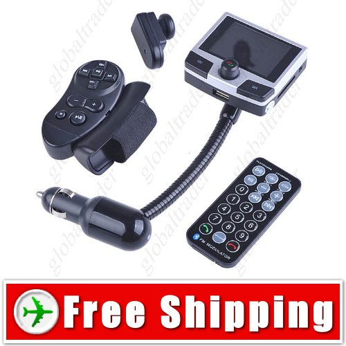 Car Kit 2GB Memory 2.2inch MP4 Player with Bluetooth FREE SHIPPING