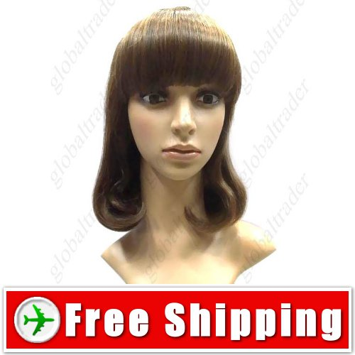 Rinka BOB Style Synthetic Hair Inner Wavy Wig Hairpiece FREE SHIPPING