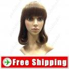Rinka BOB Style Synthetic Hair Inner Wavy Wig Hairpiece FREE SHIPPING