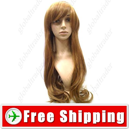 Dreamlike Long Hair with Ringlet Drops Wig Hairpiece FREE SHIPPING