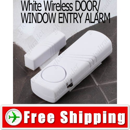 Wireless Magnetic Sensor Door Window Entry Security Alarm FREE SHIPPING