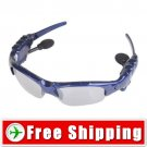 2GB Unisex Fashionable Handsfree Sunglasses MP3 Player FREE SHIPPING