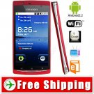 4 inch Android 2.2 Unlocked 2-Sim Smartphone Cell Mobile Phone TV WiFi