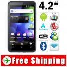 4.2inch Multi-touch Capacitive 3G Android 2.3 Smartphone Cell Phone TV