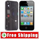Camera Patterned Snap-on Hard Cover Back Case for Apple iPhone 4 4S