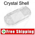 Crystal Clear Snap-on Hard Case Housing Shell for Sony PSP 3000 3002