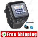 1.2 inch Touch 2-SIM Watch Mobile Cell Phone Watch - Bluetooth Camera