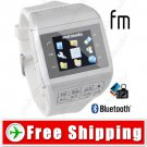 1.2inch Touch Screen 2-SIM Watch Mobile Cell Phone - Bluetooth Camera
