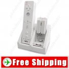Dual Charging Dock Station - 2 Battery Packs for Nintendo Wii
