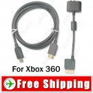 HDMI AV Cable & Stereo L/ R RCA Audio Adaptor for Xbox 360 - 6 Feet